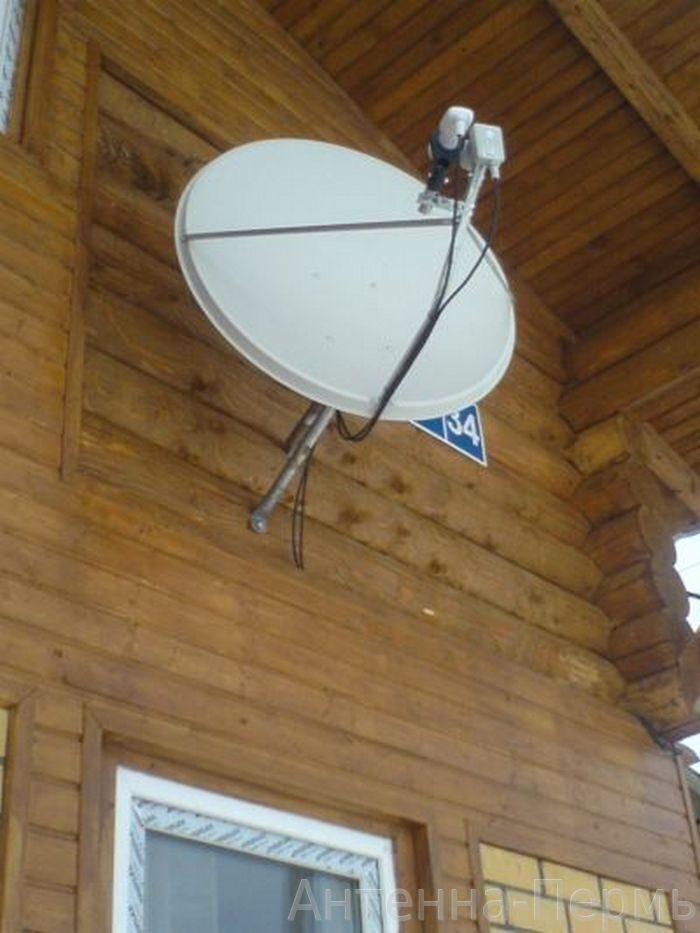 Установка спутниковой антенны нтв-плюс своими руками
